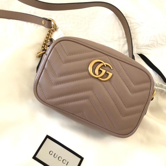 78e27e838 Gucci Bags | Gg Marmont Mini Matelasse Bag Porcelain Rose | Poshmark